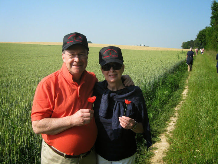 Susan and Mike in Picardie, France