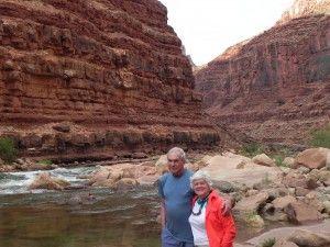 Ellie & Paul on Colorado River