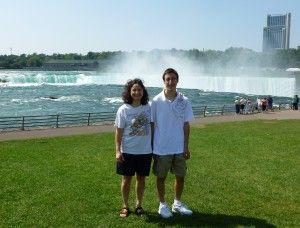 Sharon & Mark  at Niagara Falls
