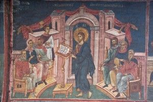 christ-preaching-in-the-synagogue-at-nazareth-14th-c-fresco-Visoki-Decani-Monastery-Kosovo